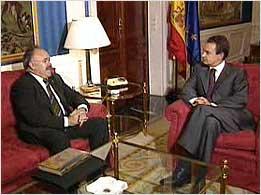 La entrevistas secretas de Zapatero