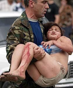 El islamismo provoca una matanza de niños